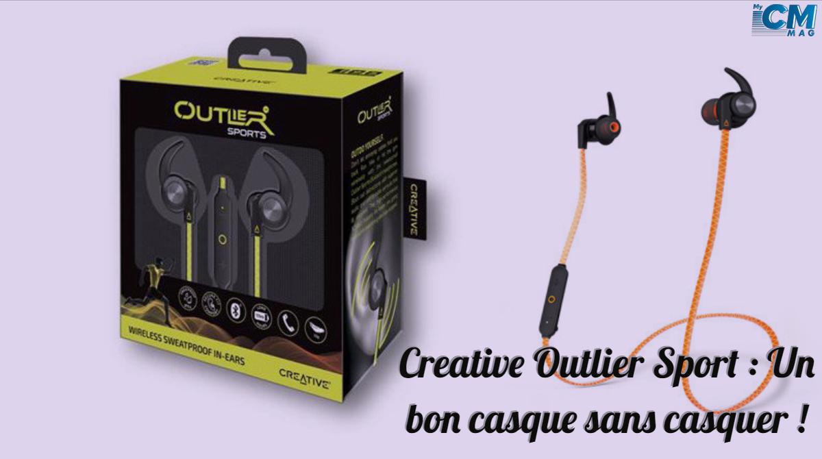 Creative Outlier Sport : Un bon casque sans casquer