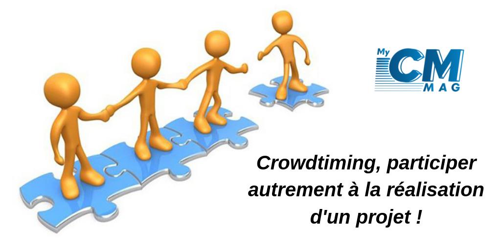 Crowdtiming, participer autrement à la réalisation d'un projet !