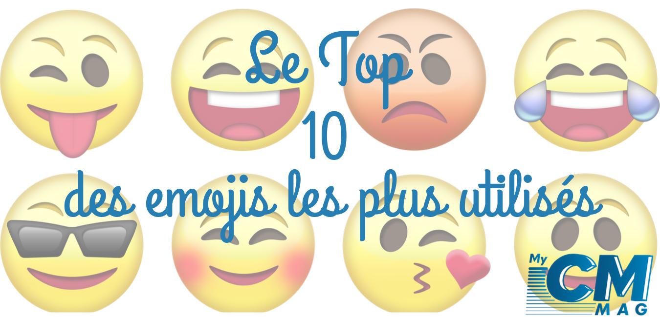 Le top 10 des emojis que j'ai utilisé en 2019