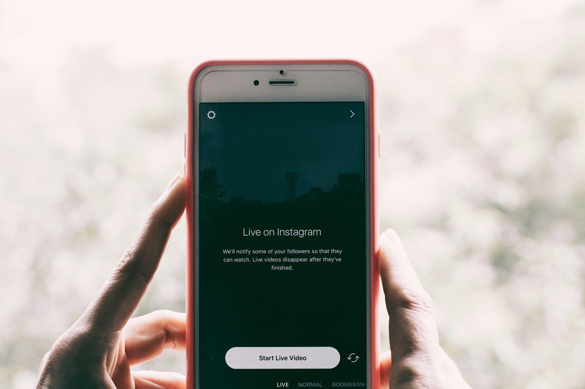 Live Instagram, un marathon de 3 jours avec des invités de qualité.