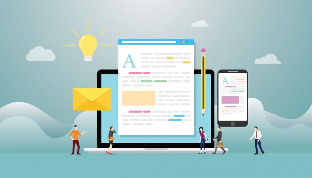 Ecrire pour le Web : les 5 étapes clés pour bien rédiger sur Internet.