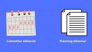 Le planning 💻et calendrier éditorial 📅